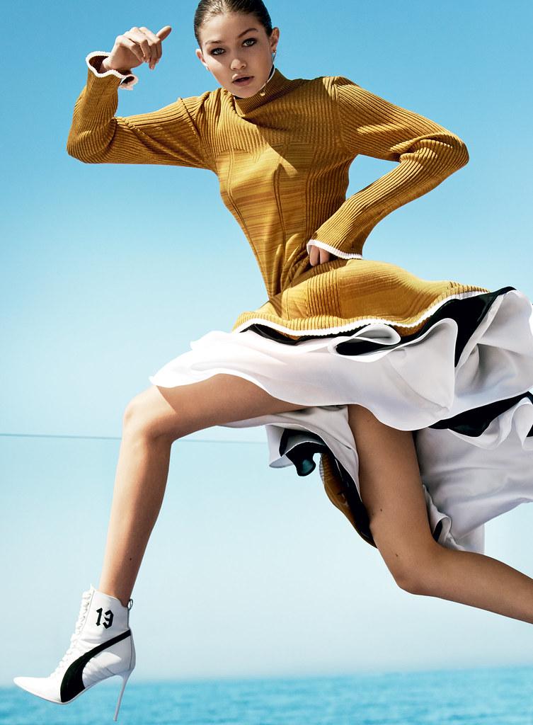 Джиджи Хадид — Фотосессия для «Vogue» 2016 – 5