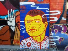 Mono-Sourcil - Graffiti Montreal 2016