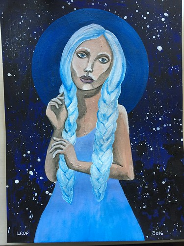 Week 45 - Frost - figurative painting