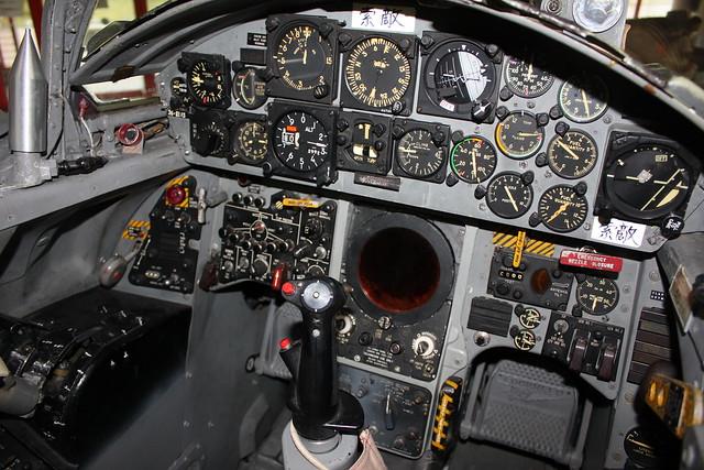 F-104J戦闘機  コックピット IMG_0102