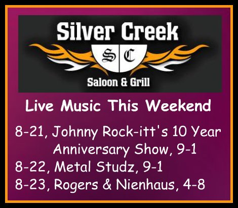 Silver Creek 8-21 thru 8-23-15