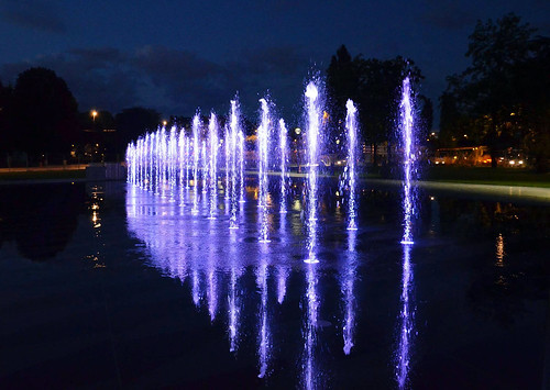 Nantes inaugurates the 'Water Mirror' fountain, constructed by EMTE Service