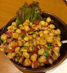 chickpea, vegetable, chana masala, leaf vegetable, kung pao chicken, food, dish, cuisine,