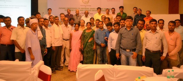 Participants of 'Future Strategies to Improve Dairy Sector in Bihar' workshop