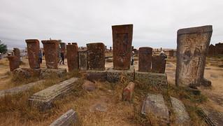 Image of Noratus cemetery. noratus sevanlake noratuscemetery trip20150820 geo:lon=45181122 geo:lat=40374397