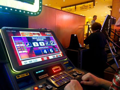 Losing money on Deal or No Deal in Bally's