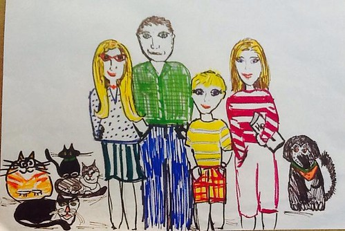 2015 family drawing