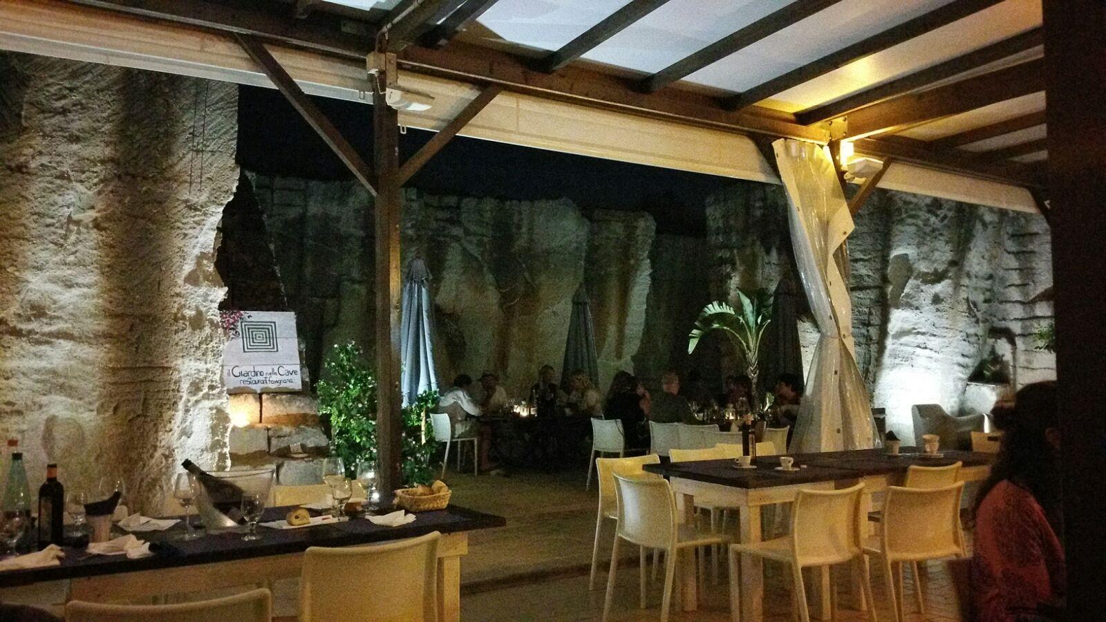 Il Giardino nelle Cave