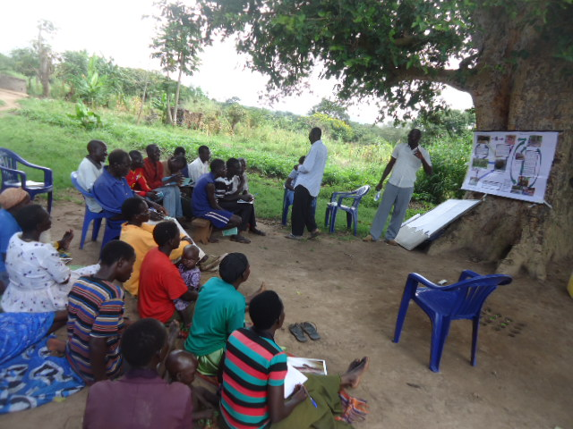 Biosecurity training against ASF in Uganda
