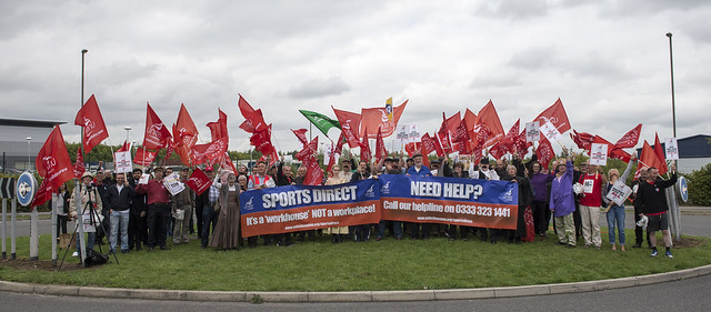 National Day of Action Against Sports Direct - 9 September 2015