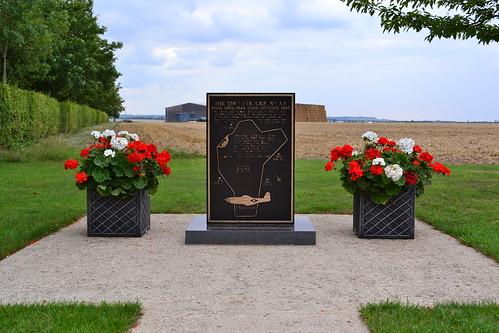 RAF Fowlmere memorial