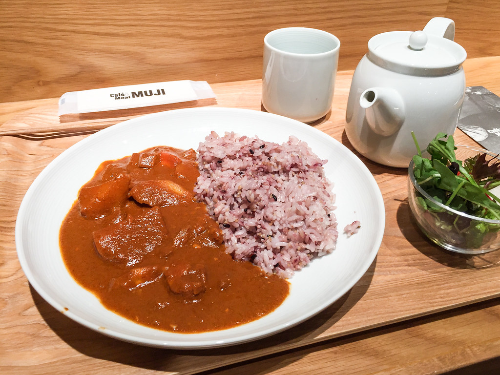 MUJI Café & Meal's Butter Chicken Curry with Salad