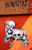 KONY Skulls Wheatpaste by TOVEN by T0VEN