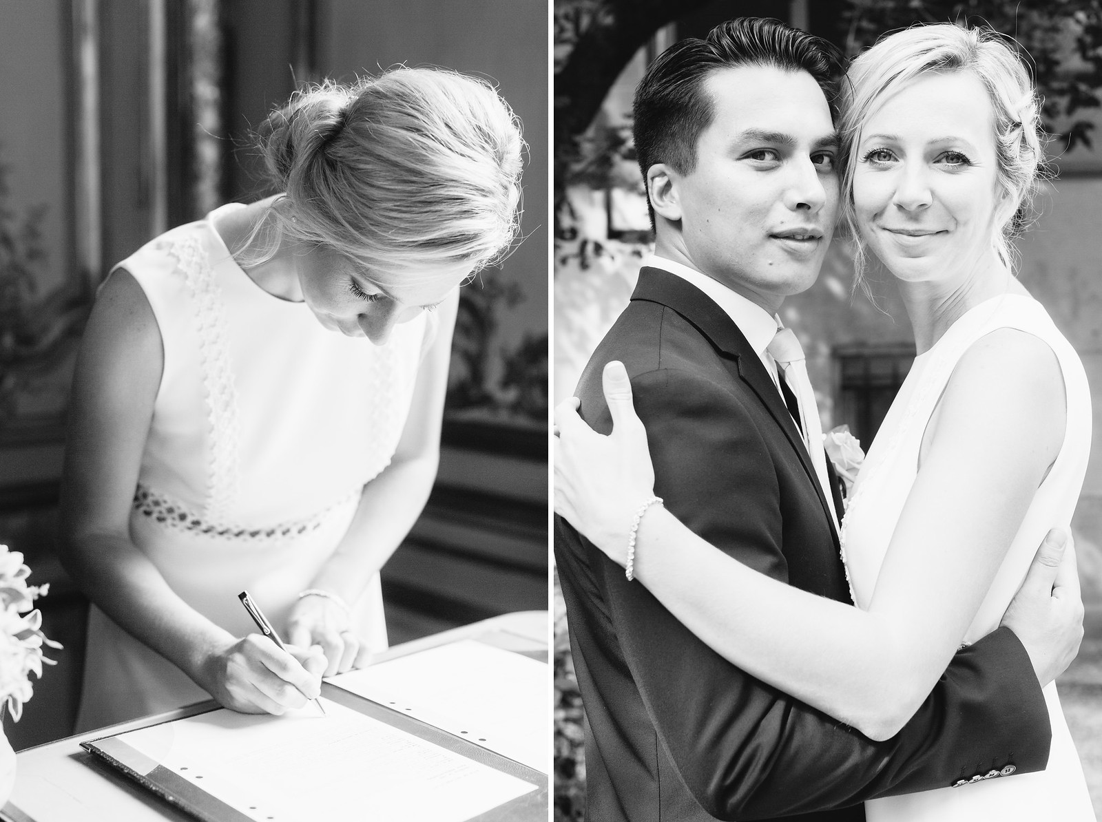 Our Civil ceremony by Carin Olsson