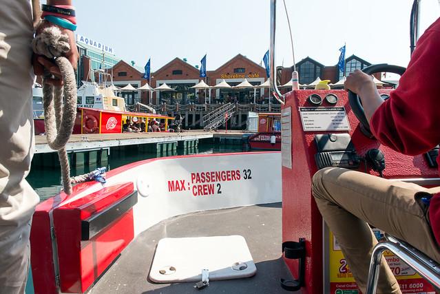 harbor cruise tour bus