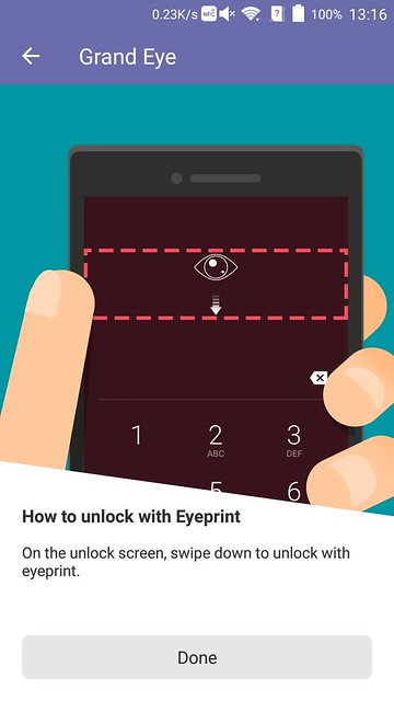 ZTE Axon Elite - Unlock With Eyeprint