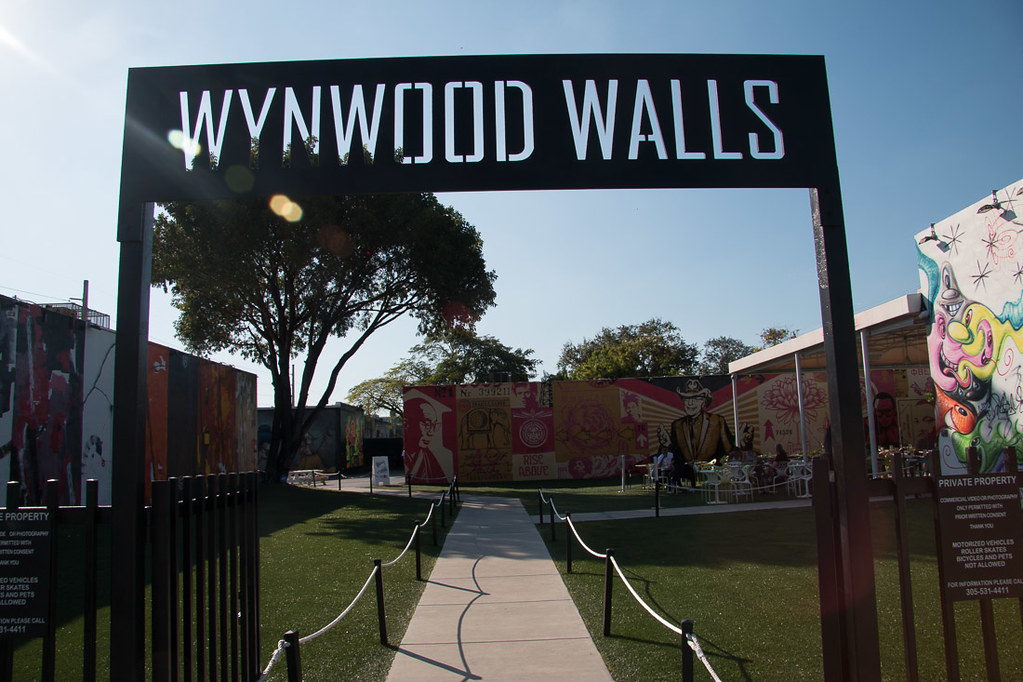 Wynwood Walls entrance in Miami