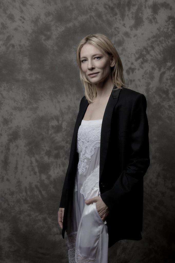 Кейт Бланшетт — Фотосессия для «Кэрол» на «BFI» 2015 – 1