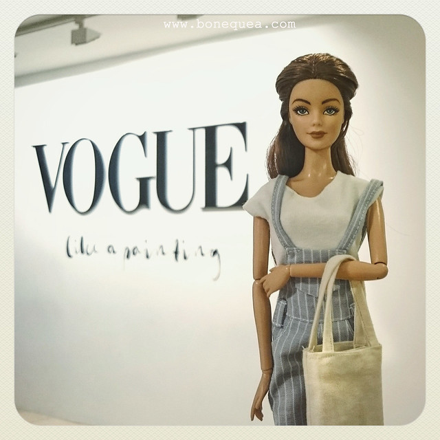 Exposición Vogue Like a painting. Museo Thyssen Bornemisza.