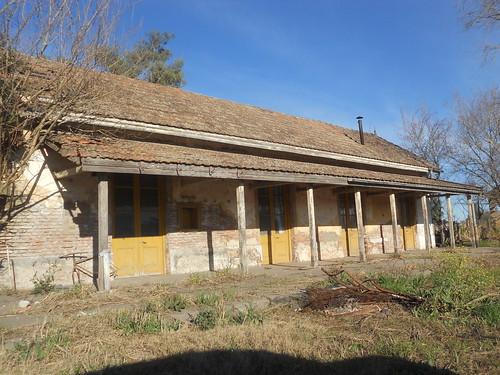Ex estación del ferrocarril, Humberto Primo