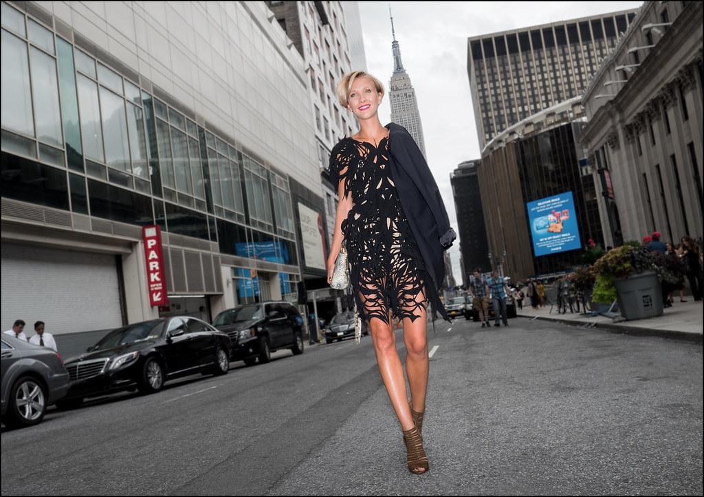 On West 33rd Street  NYFW 9-2015