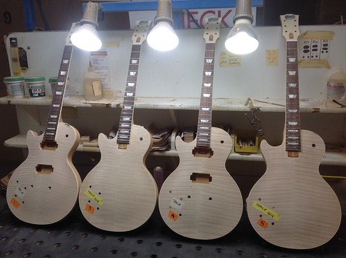 All Four Lefty '59 White Wood