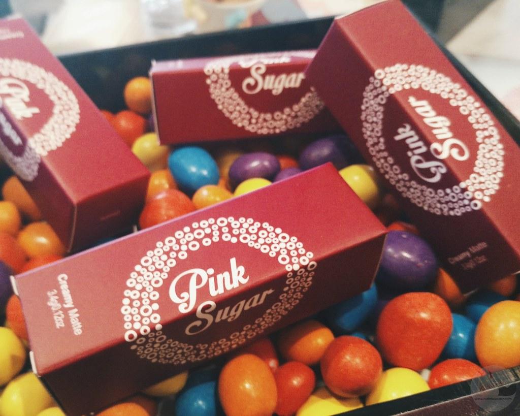 pink sugar lipstick review