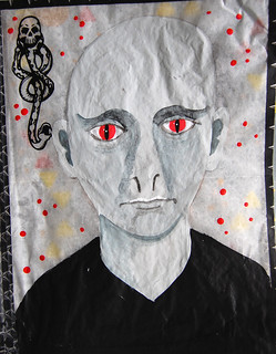 Week 42 - Harry Potter - Voldemort layer