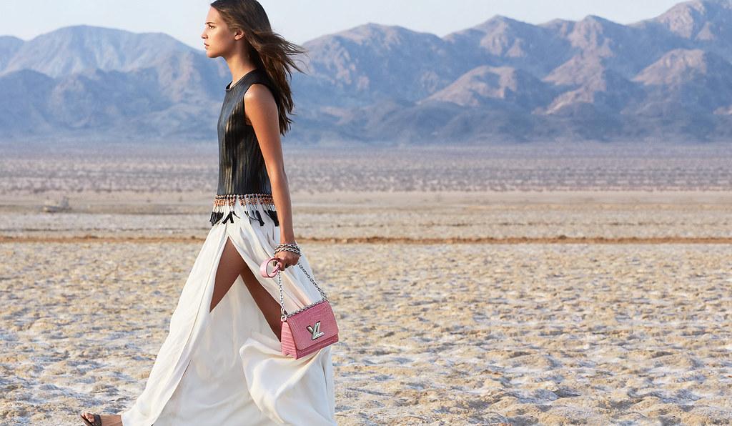 Алисия Викандер — Фотосессия для «Louis Vuitton» ST 2015 – 2