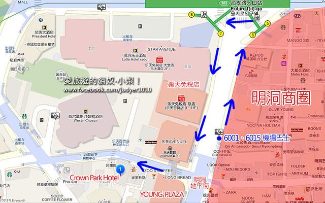 明洞地圖1