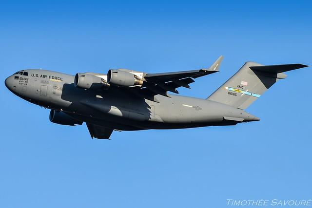 [ORY] USAF Boeing C-17 Globemaster III