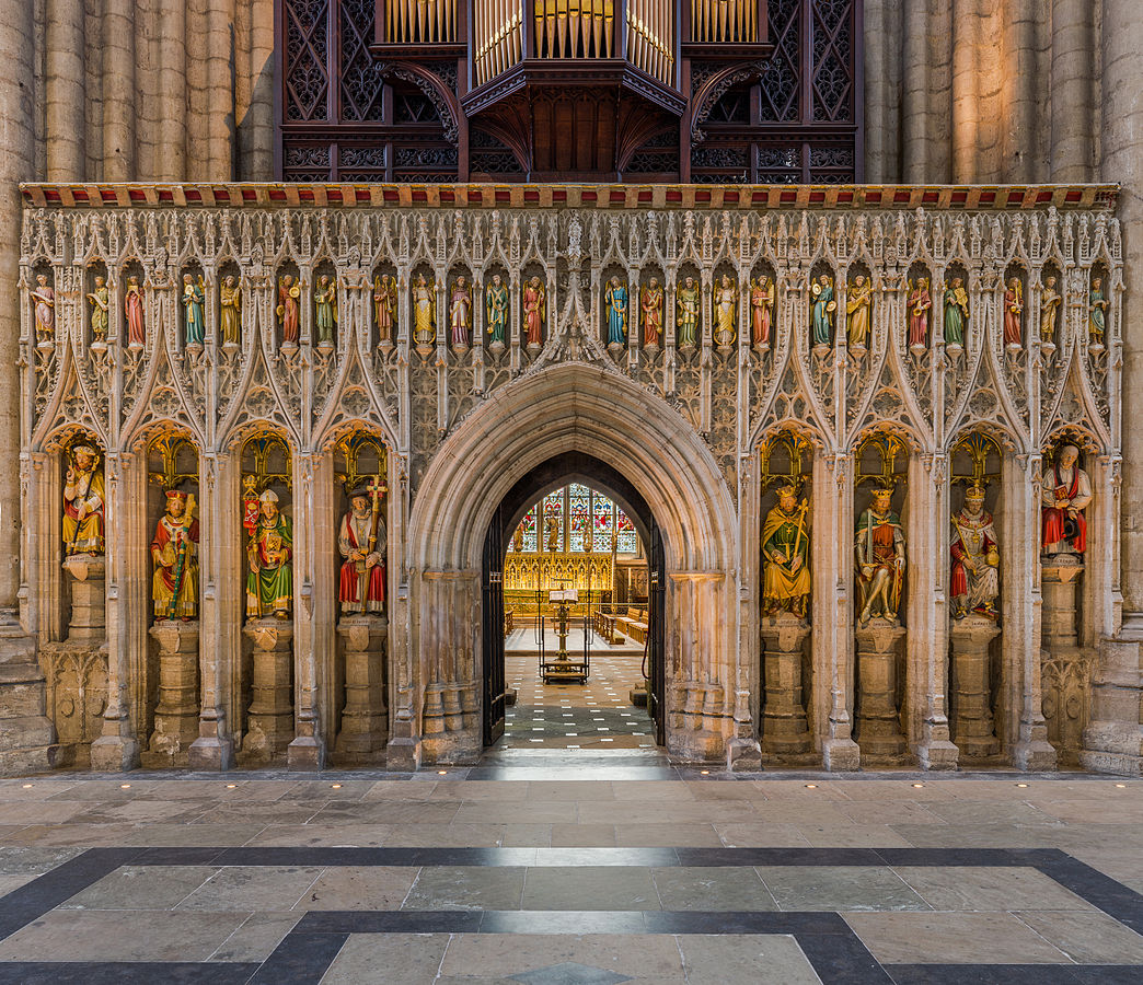Ripon Cathedral - The rood screen. Credit: David Iliff