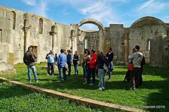 Casamassima- il corteo casamassimese applaudito a Melfi-Visita a Venosa (1)