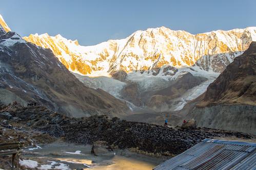 nepal snow sunrise trek peak np annapurna himalayas 2012 basecamp annapurnabasecamp ghandruk westernregion