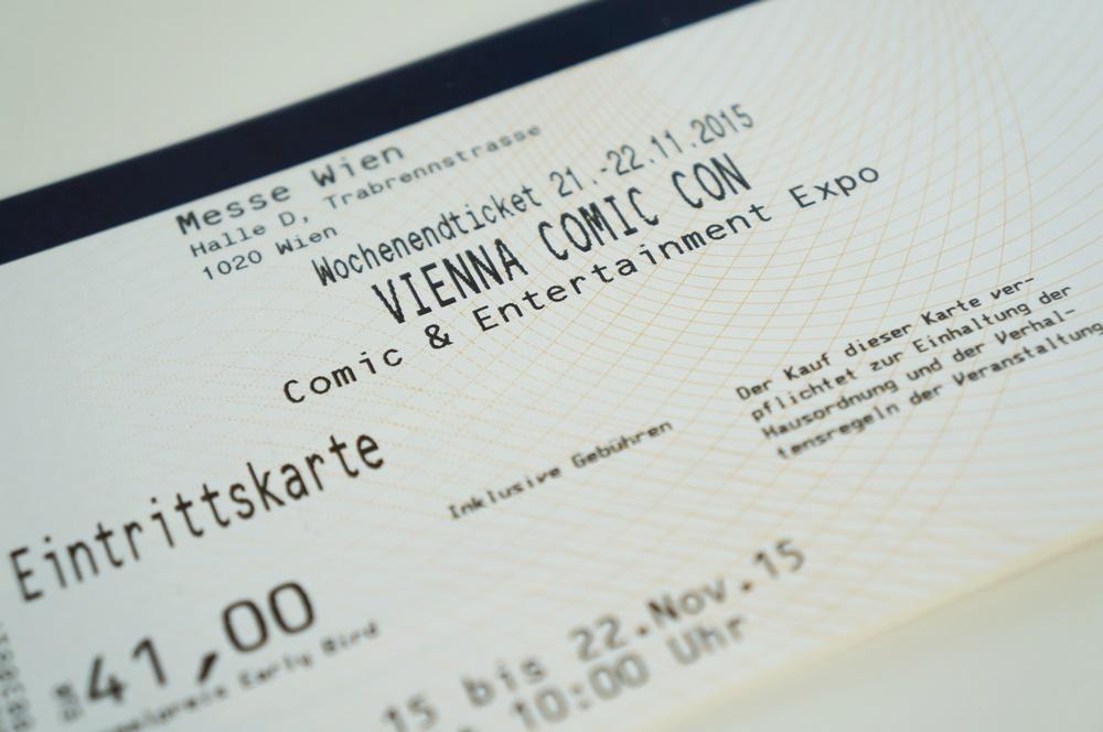 Vienna Comic Con Ticket