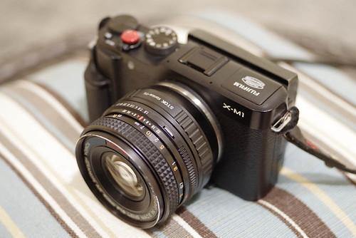 AR 40mm 1.8+FUJIFILM X-M1