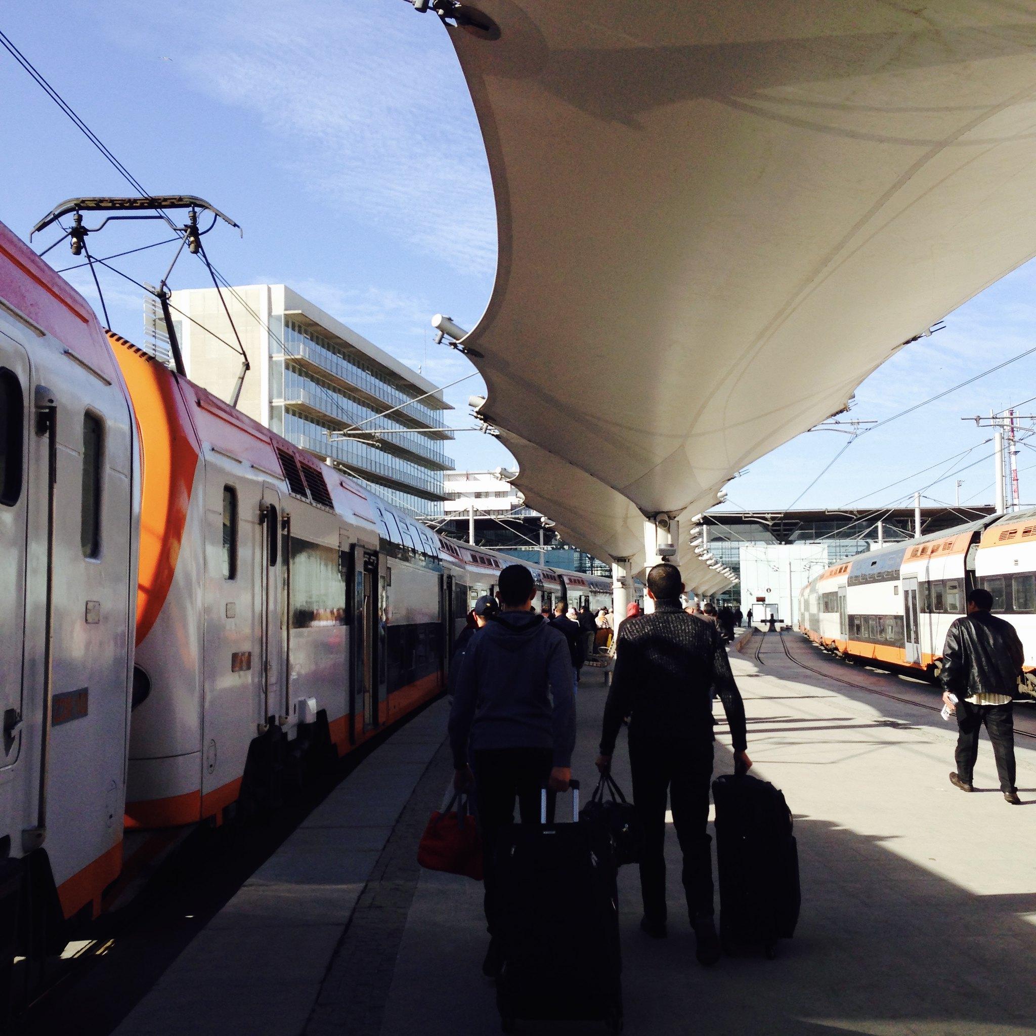 Train Travel: Getting from Rabat to Casablanca – Wanderlust