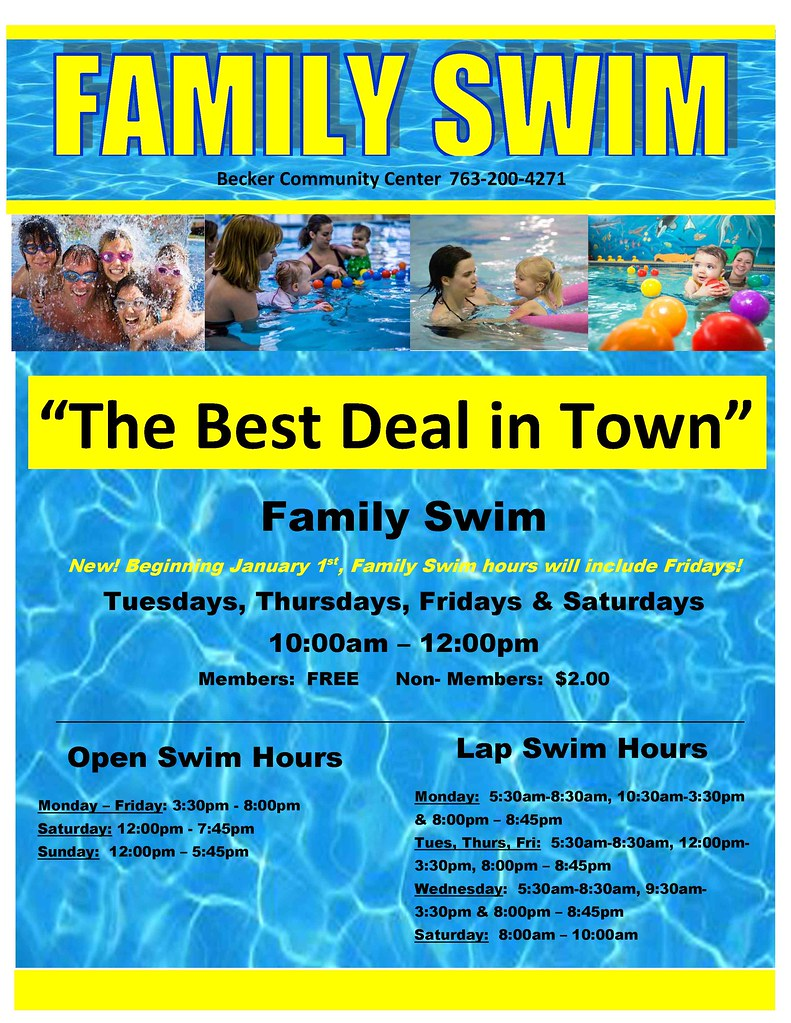 Pool hours becker community center - Whitefish bay pool open swim hours ...