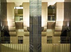 Art deco-styled atrium