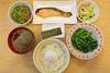 すき家(sukiya) - 鮭魚牛肉朝食