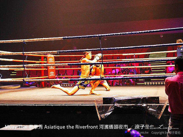 Muay Thai 泰拳秀 Asiatique the Riverfront 河濱碼頭夜市 8