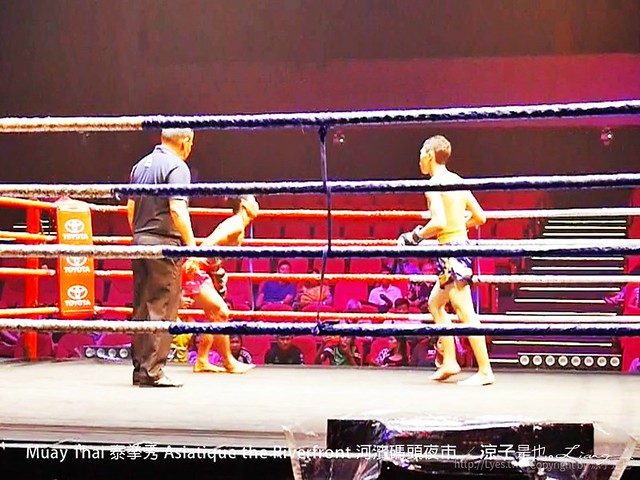 Muay Thai 泰拳秀 Asiatique the Riverfront 河濱碼頭夜市 41