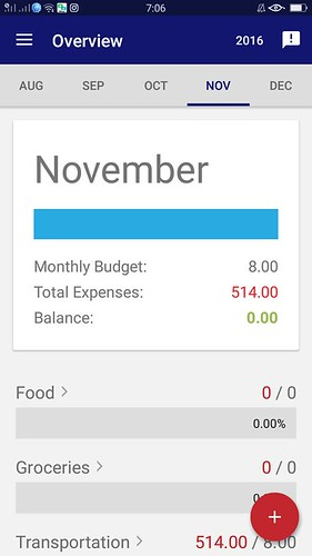 Insular Life Finance Manager App - use this app to manage and monitor your monthly budget and expenses