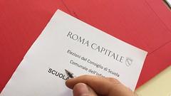 Oggi si lavora come #Presidente di seggio la scuola di #RomaCapitale. Il mio/nostro impegno civico per migliorare la #scuola del futuro.