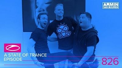Armin Van Buuren - A State of Trance 826 - Andrew Rayel & Orjan Nilsen Takeover 10-08-2017