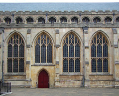 south aisle and clerestory