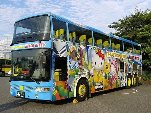 xe bus ở Nhật