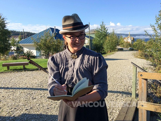 Dawson City historical tour