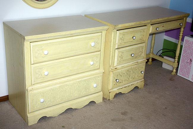 Dresser&Desk_Before
