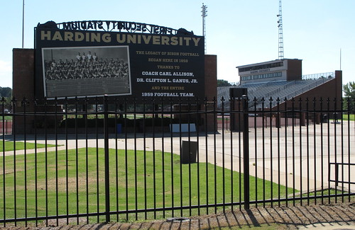 football stadiums arkansas hardinguniversity firstsecuritystadium searcyark hardingbisons whitecountyark